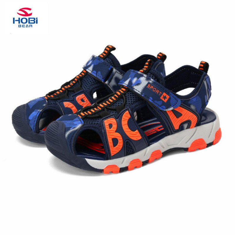 2018 New Children Shoes Leather Sandals Male Kids Sandals For Boys Summer Sandals kids Casual Comfortable Summer Beach Shoes
