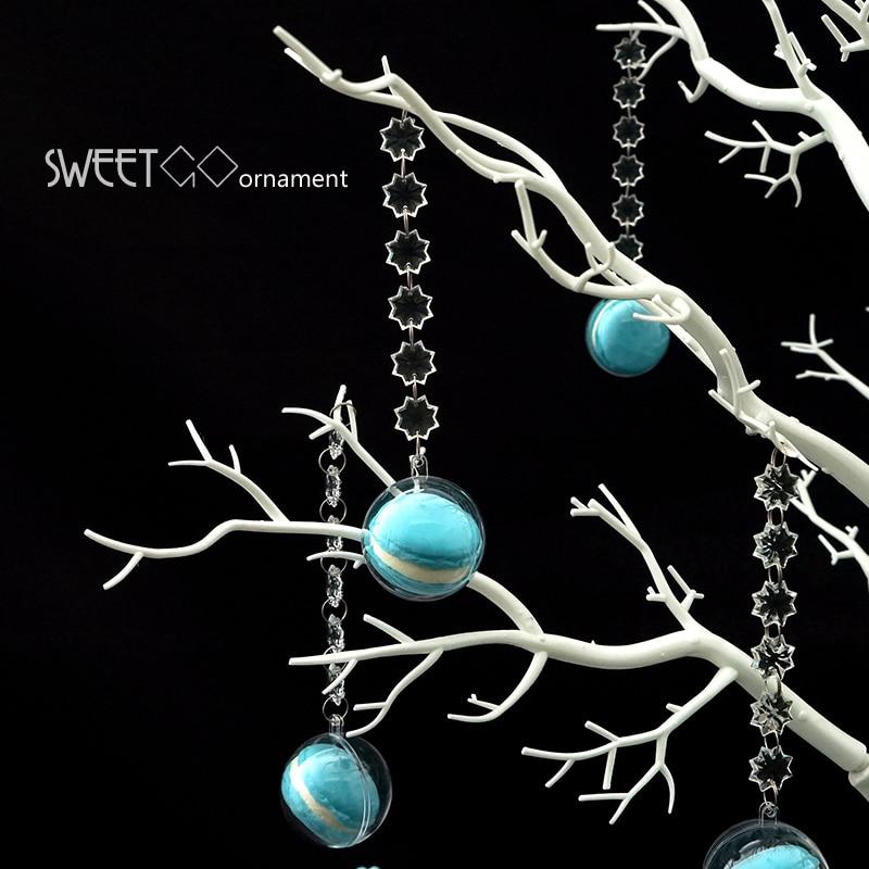 Sweetgo macrons 인공 나무 웨딩 장식 나무 디저트 테이블 캔디 바/숍 창 소원 트리 이동식 지점-에서케이크 데코용품부터 홈 & 가든 의  그룹 3