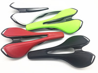 road bike carbon saddle full carbon+Leather saddle carbon bicycle saddle MTB cycling parts seat cushion covered by leather