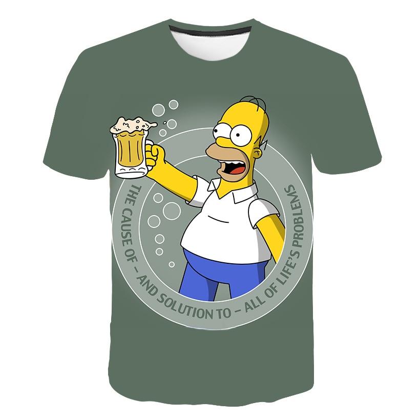 Beer Solves Everything Print T Shirt Funny Letter Women Men Novelty Cartoon T-shirt Short Sleeve Tops Unisex Clothing Dropship