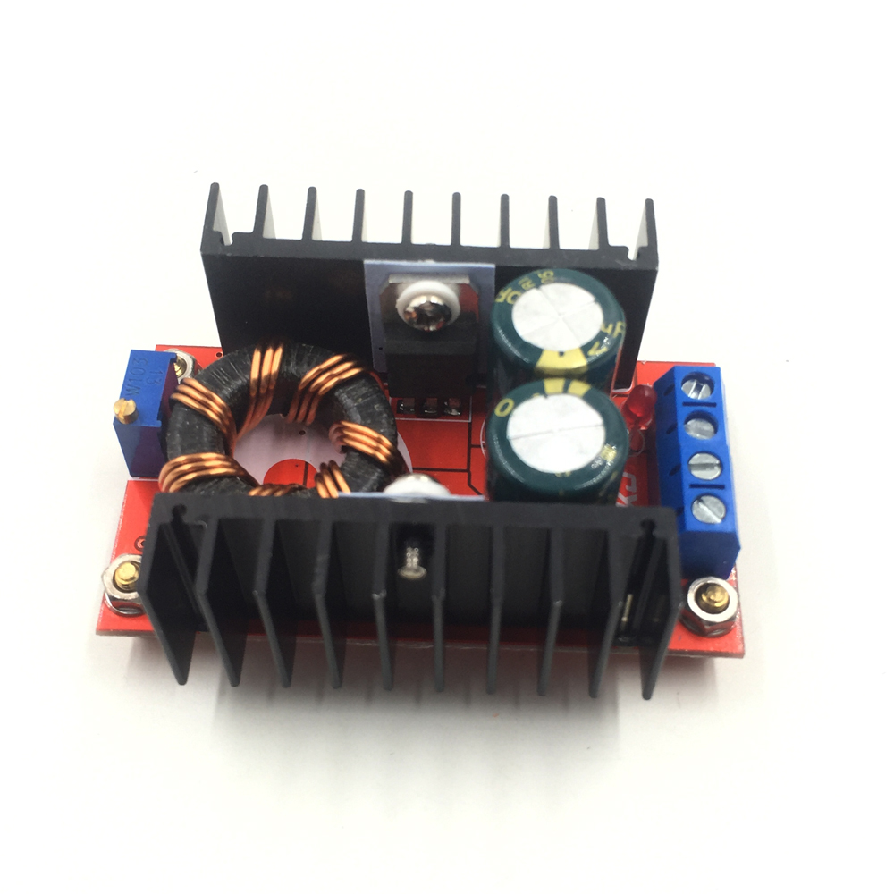 1 pcs 150W DC to DC Boost Converter 10-32V to 12-35V 6A Step-Up Charger Power Module Hot Sale Factory Wholease Popular Promote dc dc converter step up boost module 3v to 5v boost circuit board 3a