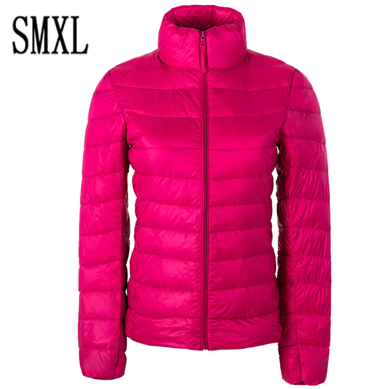 addnew Down Parka 2017 Famous Enlarge s-4XL Designer Winter Jacket Women 90% White Duck Down Jacket Outwear Ultralight Thin Coat