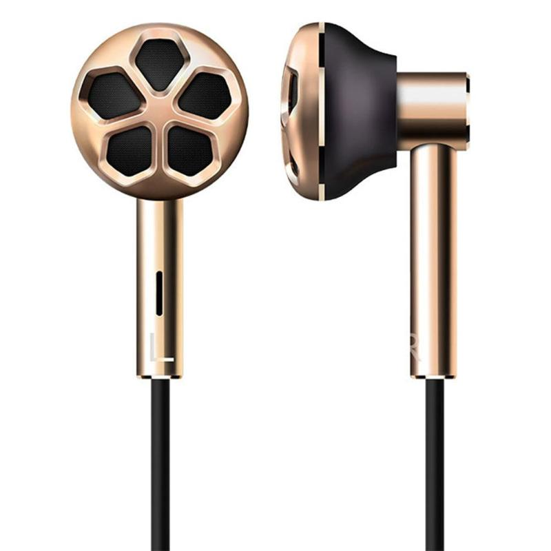 1MORE E1008 Dual Driver 3.5mm In-Ear Wired Earphone Noise-Cancel Mic Earbud1MORE E1008 Dual Driver 3.5mm In-Ear Wired Earphone Noise-Cancel Mic Earbud