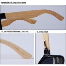 Wood & Bamboo New Fashion Sunglasses With Case