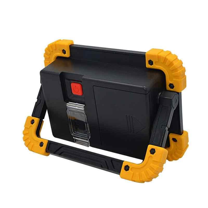 Foco LED portátil recargable al aire libre Camping emergencia césped trabajo pesca Luz