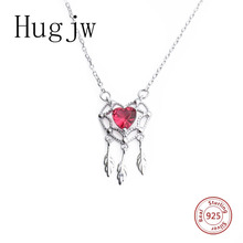 2019 new arrival 925 sterling silver necklace in jewelry love heart dream catcher necklace pendant diy fashion jewelry for women high quality love heart pendant fashion women casual luxury necklace 2019 new jewelry