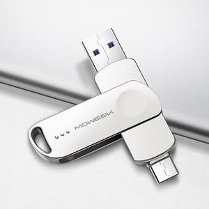 Image 2 - Moweek MF93 USB C flash drive 128GB 64GB Type C USB Flash Drive 32GB 16GB 8GB OTG usb stick High Speed cle USB 3.0 Pen Drive