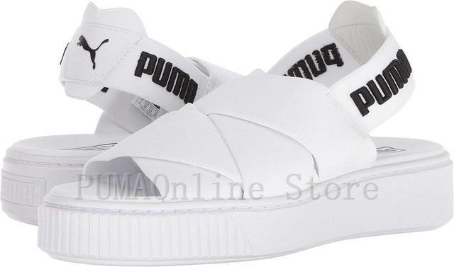 55c18ff6a38d 2018 PUMA Womens Platform Sandal  LEA 365481  365478  FENTY PUMA by Rihanna  Size EUR35.5-39