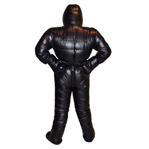 Image 4 - Professional Goose Down 3000g Filling Waterproof Antarctic Arctic Expedition Winter Down Suit Jacket Very Warm