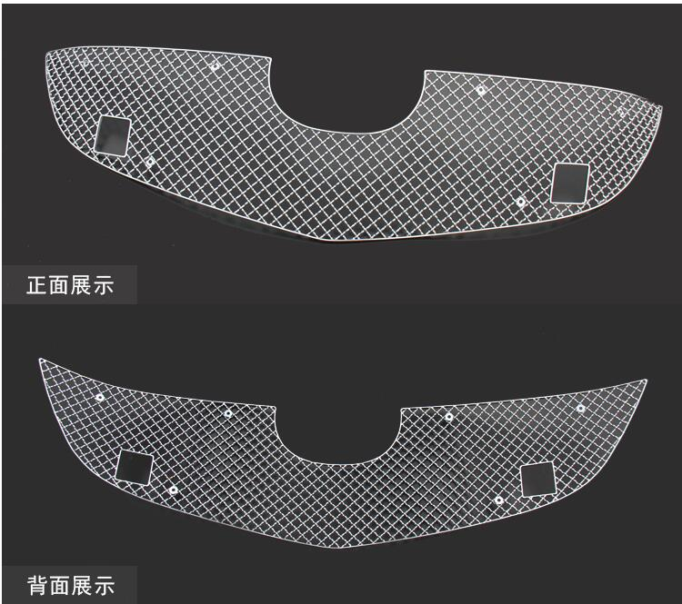 High quality case for Mazda CX-5 2013 2014 stainless steel Front grille trims auto exterior accessories car styling for mazda cx 5 cx5 2012 2013 2014 2015 aluminium alloy side bars rails roof rack luggage carrier car styling