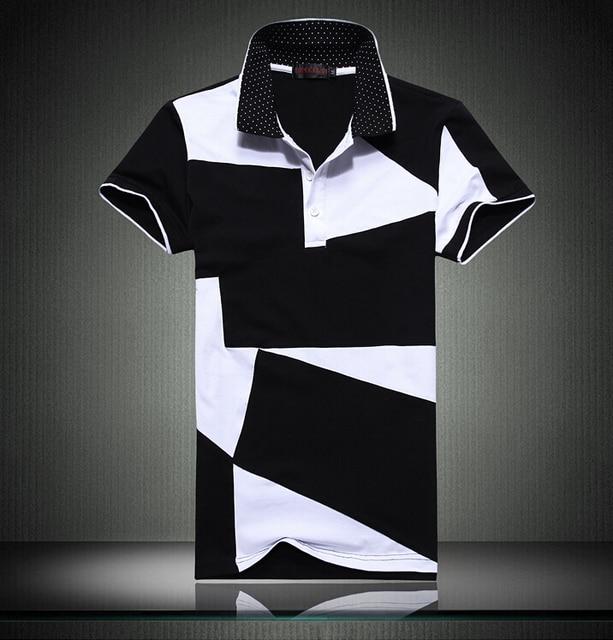 100% Cotton Polo Men Shorts Sleeve brand clothing Summer male Tops Tees Fashion Casual  Man POLOS