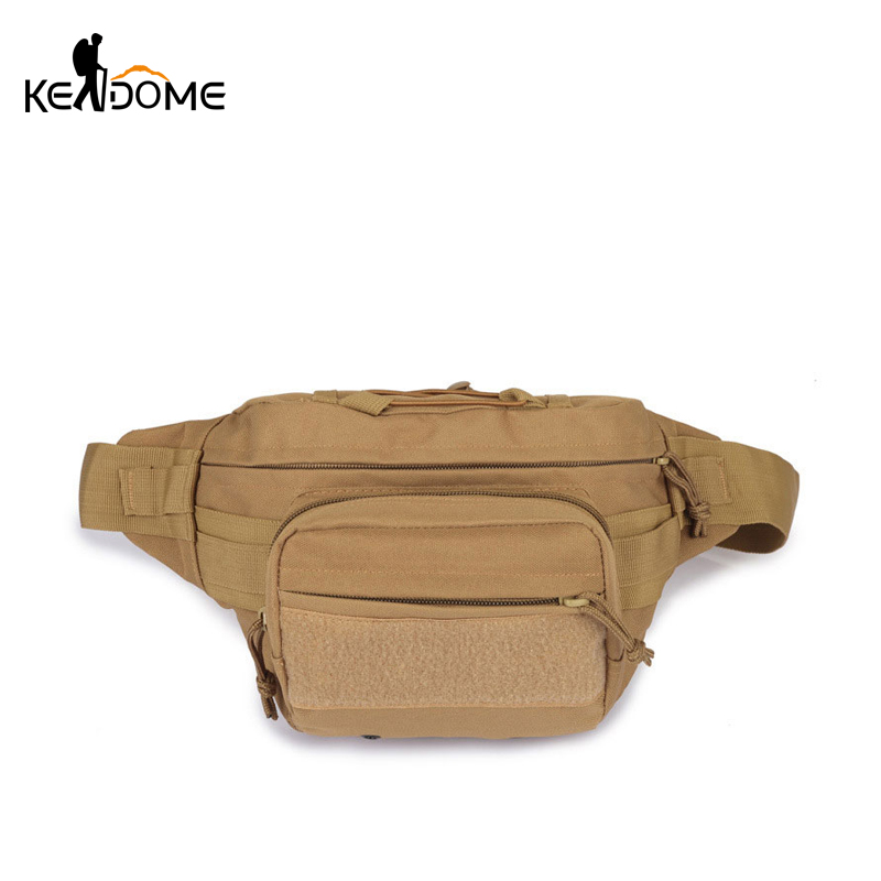 High Quality Canvas Military Waist Bag Unisex Utility Motorcycle Riding Waist Pack Outdoor Sports Travel Mini Daddy bag XA750WD