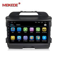 MEKEDE Car Radio Multimedia no 2 din android Sportage 3 4 2010 2015 Video Player Navigation GPS For KIA Sportage 1 2 sedan