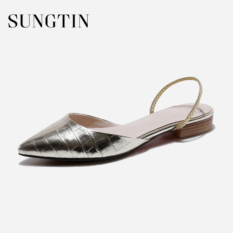 Sungtin Fashion Ballet Flats Women Slip-On Party Shoes Ladies Summer Slip-On Flats Shoes Patent Leather Comfortable Moccasins 2018 women shoes comfort pointed toe patent leather ballerina ballet flats portable travel flats summer slip on shallow shoes