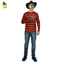 New arrivals Freddy killer costumes with claw halloween costume women dress man clothing couple sets for party cosplay