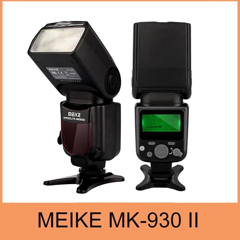 цена Meike MK930 II,MK930 II as Yongnuo YN560II YN-560 II Flash Speedlight For Canon 6D EOS 5D 5D2 5D Mark III II IV I 1D