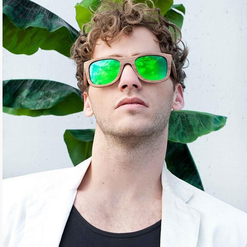 Berwer Νέα 2019 Μπαμπού γυαλιά ηλίου - Αξεσουάρ ένδυσης - Φωτογραφία 6