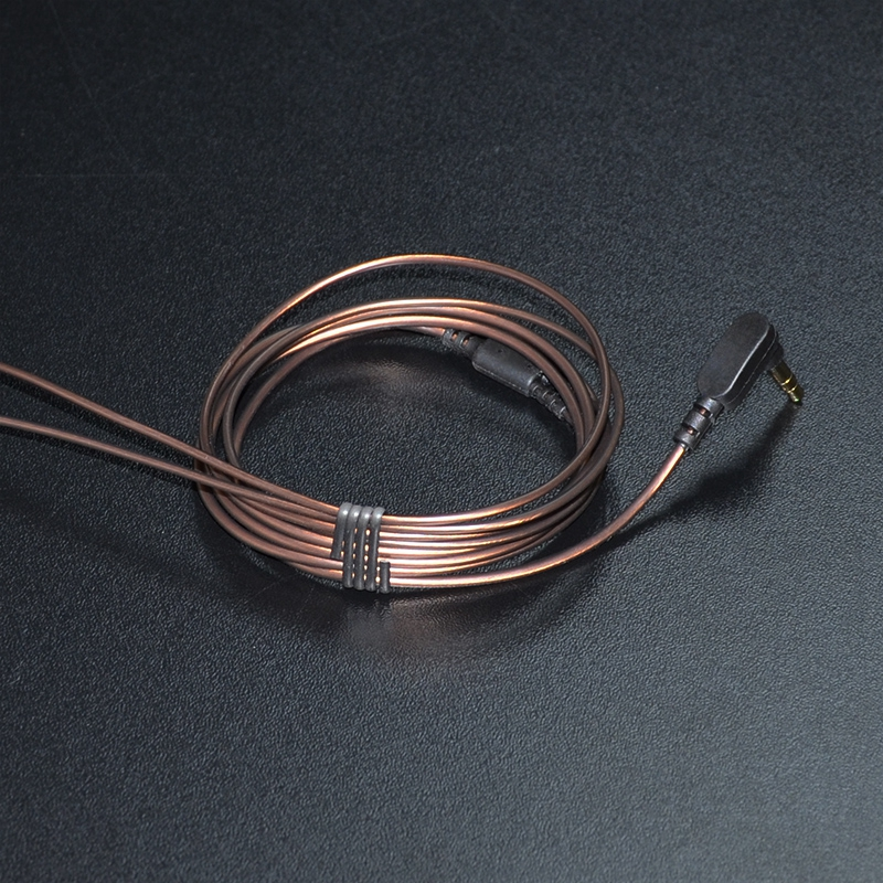 1.2m Gold-plated 3.5mm 56 LC-OFC Copper core 3-pole Jack Headphone Audio Cable Earphones Maintenance Wire For KZ DIY Earphones core by jack