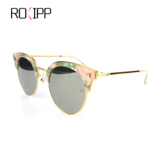 купить Rolipp M0621 sunglasses womenstainless steel Frames Polaroid lenses UV400 дешево