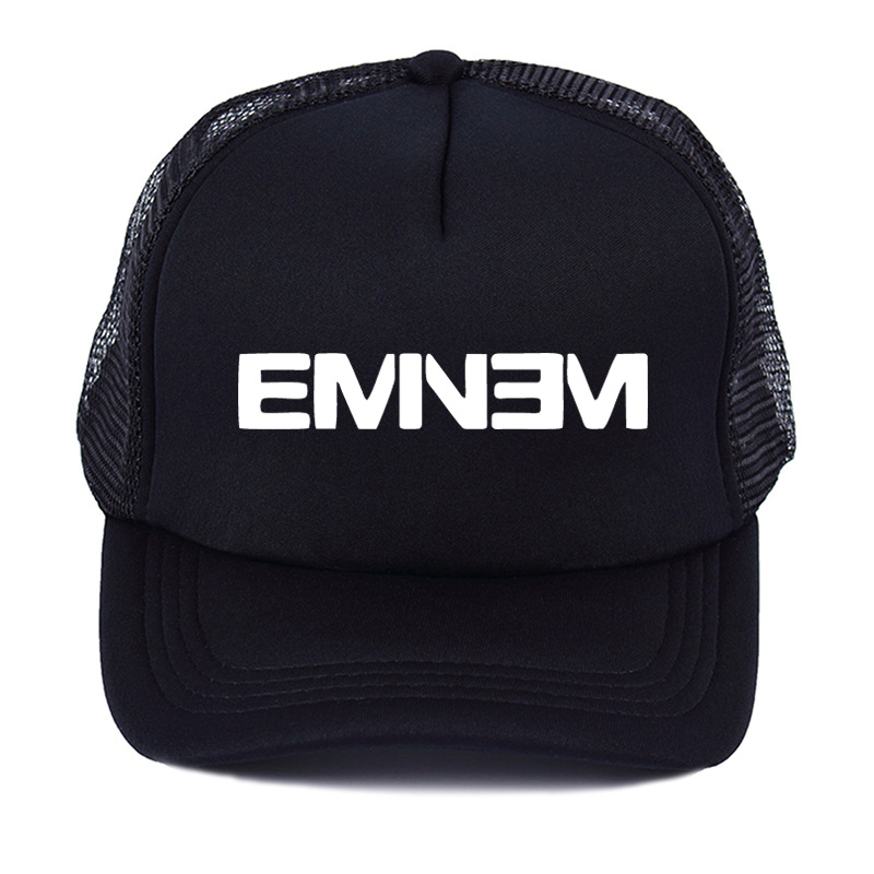 Eminem Summer   baseball   net   cap   Bad Meets Evil rap rock Men's street hip-hop hats snapback A woman's hat shades the sun
