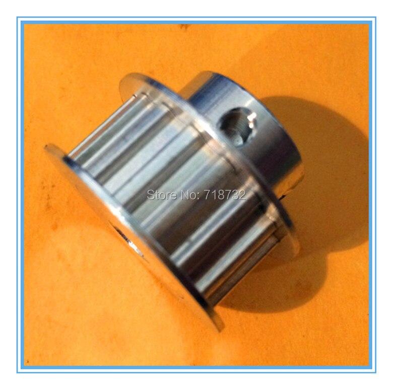 5M HTD5M Aluminum Timing Belt Pulley 20 Teeth 14mm Bore 16mm width Stepper Motor