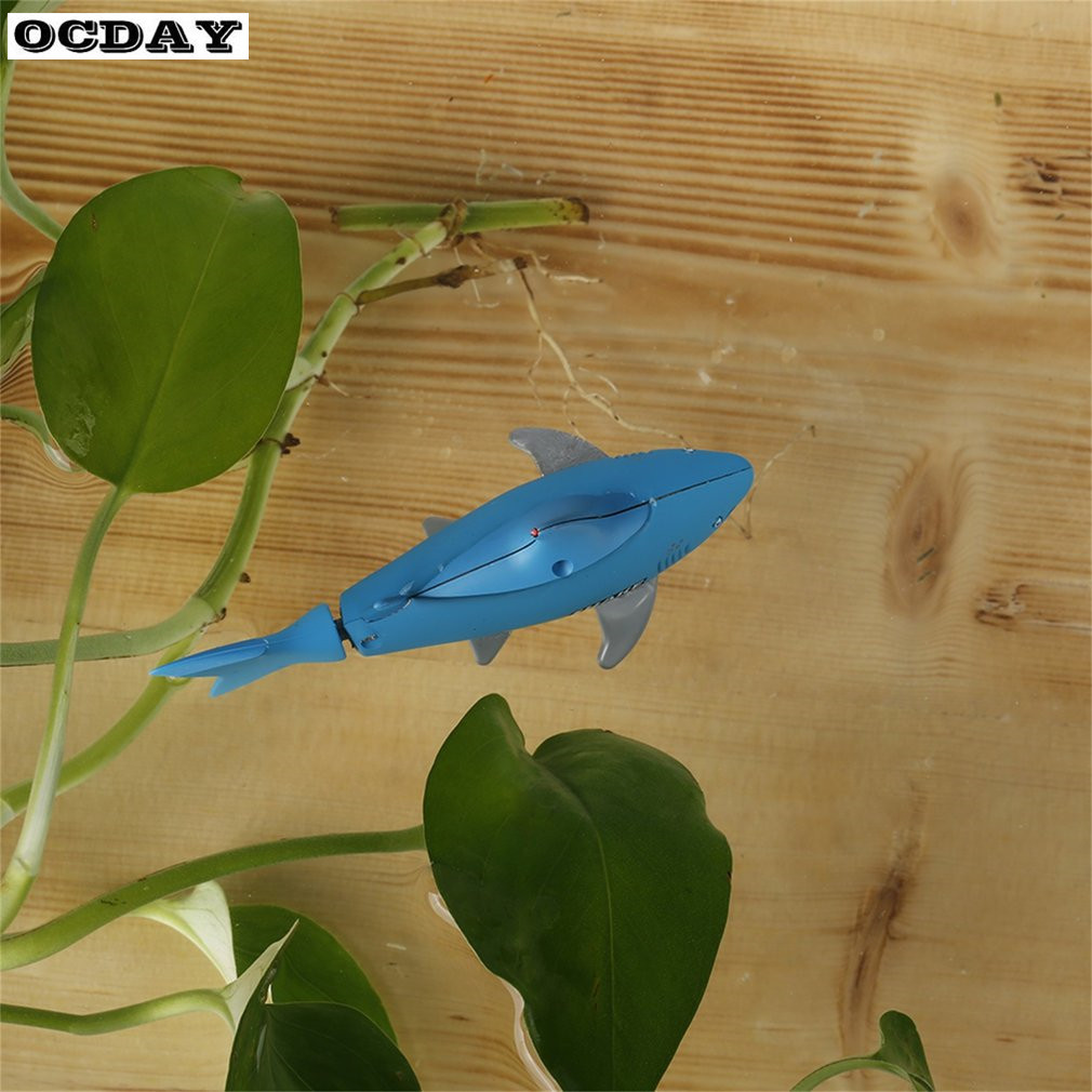 New Underwater Remote Control Shark RC Submarine 4 CH Small Sharks ...