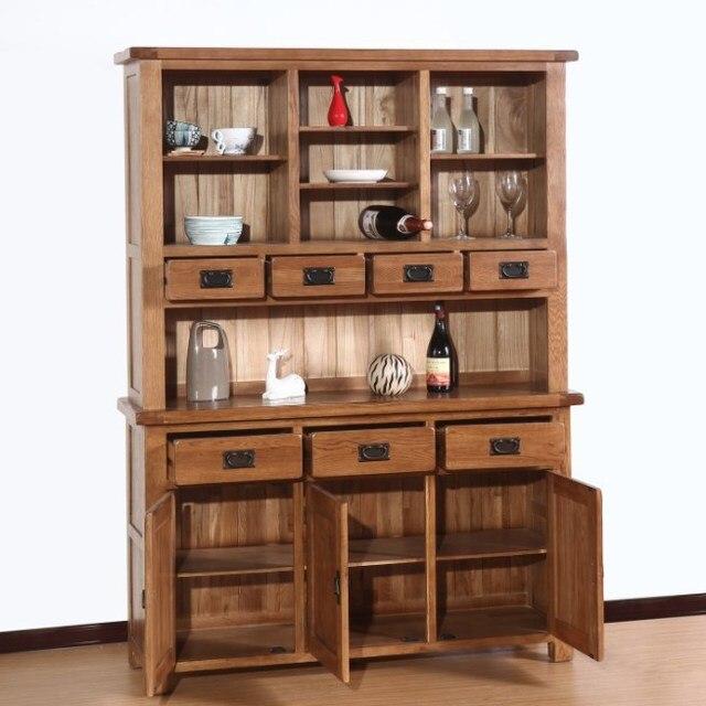 Holz Sideboard Große Wein Schrank Schränke Moderne