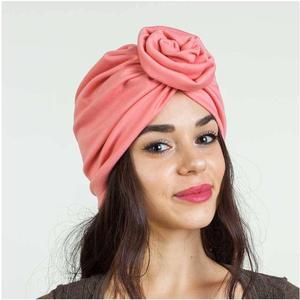 Image 4 - 여성 인도 매듭 보닛 케모 캡 터번 모자 비니 헤드 스카프 랩 라마단 탈모 이슬람 모자를 쓰고 있죠 모자