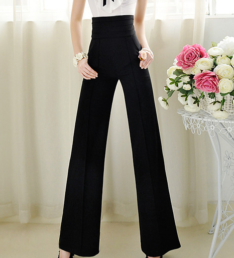 Women Pants New 2016 Pantalones Mujer De Vestir High Waist Pants Vestidos Femininos Trousers Women Ol Casual Harem Pants Dress Dress Pant Shirt Pants Downdress Pants Boys Aliexpress