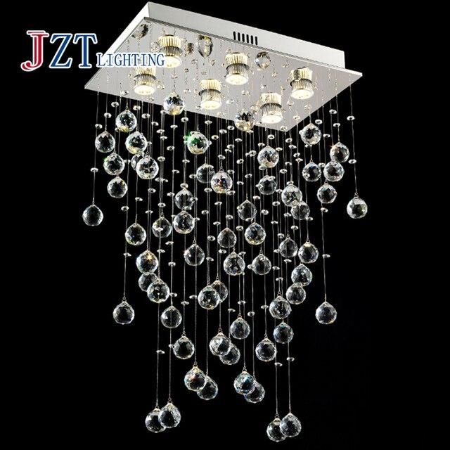Z best price Modern Home Chandelier Crystal Lamp Lighting Edison ...
