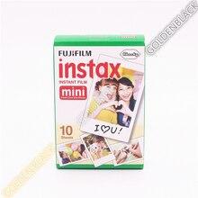 Genuine 50 Sheets White Fuji Instax Film