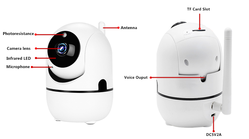 HTB1cyCFX.jrK1RkHFNRq6ySvpXab 1080P Wireless IP Camera Cloud Wifi Camera Smart Auto Tracking Human Home Security Surveillance CCTV Network