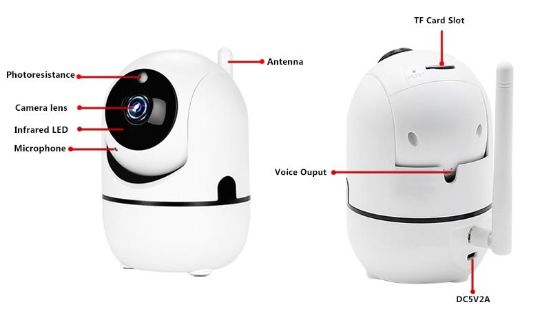 HTB1cyCFX.jrK1RkHFNRq6ySvpXab 1080P Wireless IP Camera Cloud Wifi Camera Smart Auto Tracking Human Home Security Surveillance CCTV Network