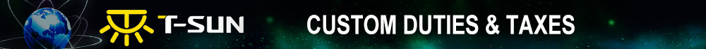 Custom Duties & Taxes