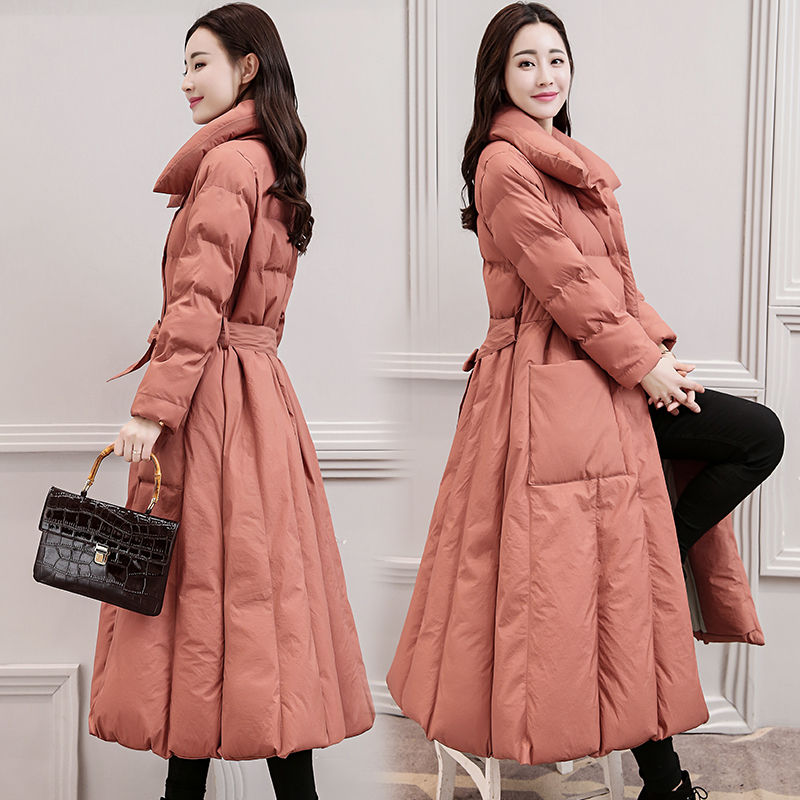 Down Cotton Padded Jacket Coat Women Long   Parkas   Mujer 2019 Thick Winter Jacket Women Warm Plus Size Jackets Overcoat 3XL C5700