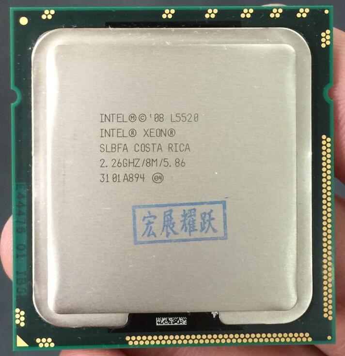 Intel Xeon Processor L5520 (8M Cache, 2.26 GHz, 5.86 GT/s Intel QPI) LGA1366 Desktop CPU 100% Normal Work