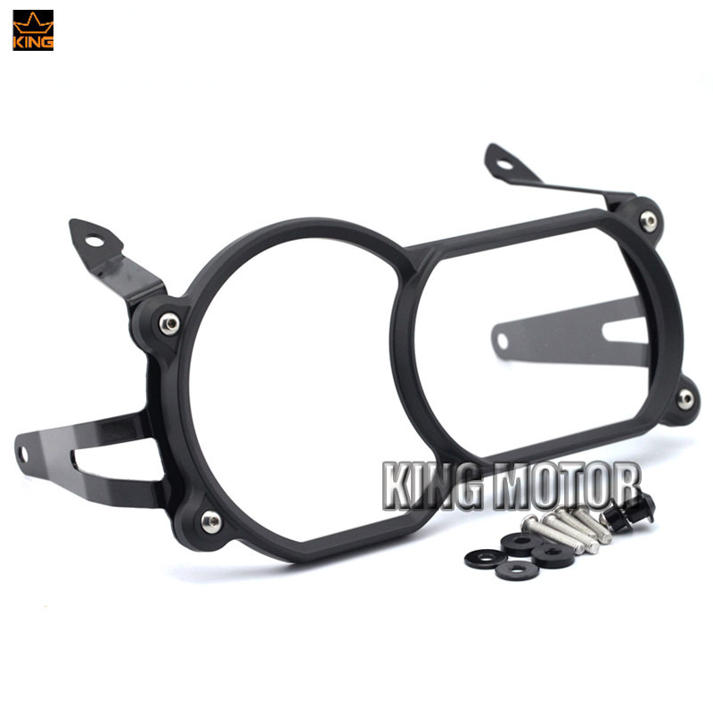 New Headlight Protector Guard Cover With Quick Release Fastener Black For BMW R1200GS LC 13-17/ R1200GS LC Adventure 14-17 50pcs lot wire hanger fastener hanging photo picture frame quick easy clutch release nickel plate movable head ceiling