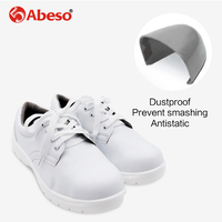 Homens Biqueira de Aço Sapatos de Segurança do Trabalho Leve Abeso A8621A Reflexivo Respirável Tênis Casuais|Botas de segurança| |  -