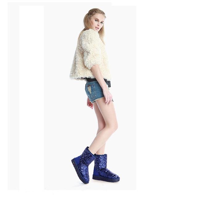 Cuculus wholesale Australia Classic Women Snow Boots Women Cow Suede Winter Classic boots 5827