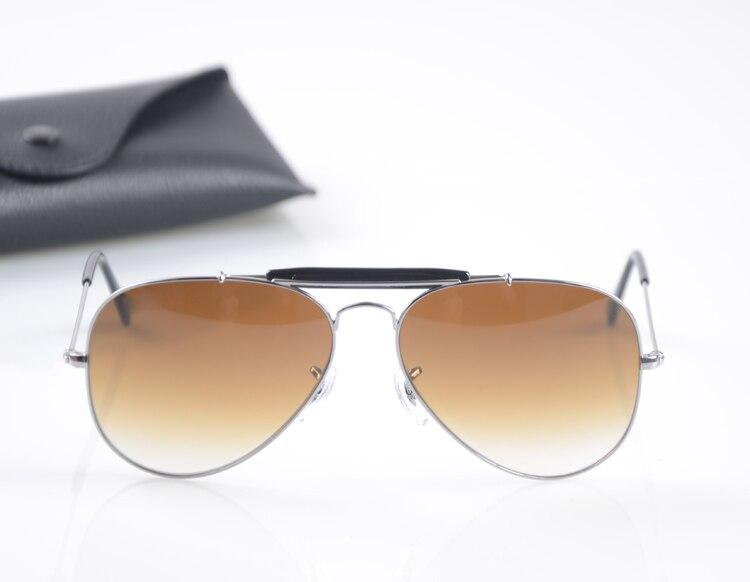 Высочайшее качество G15 Стекло объектив 3407 дизайнер бренда Солнцезащитные очки для женщин женские мужские винтажные авиации Солнцезащитные...