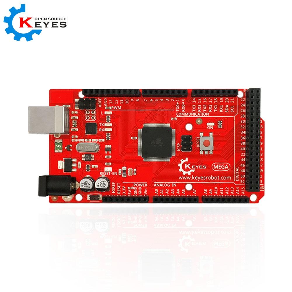 KEYES MEGA 2560 R3 development Board ATmega2560 ATMEGA16U2 + USB Cable Compatible with Arduino