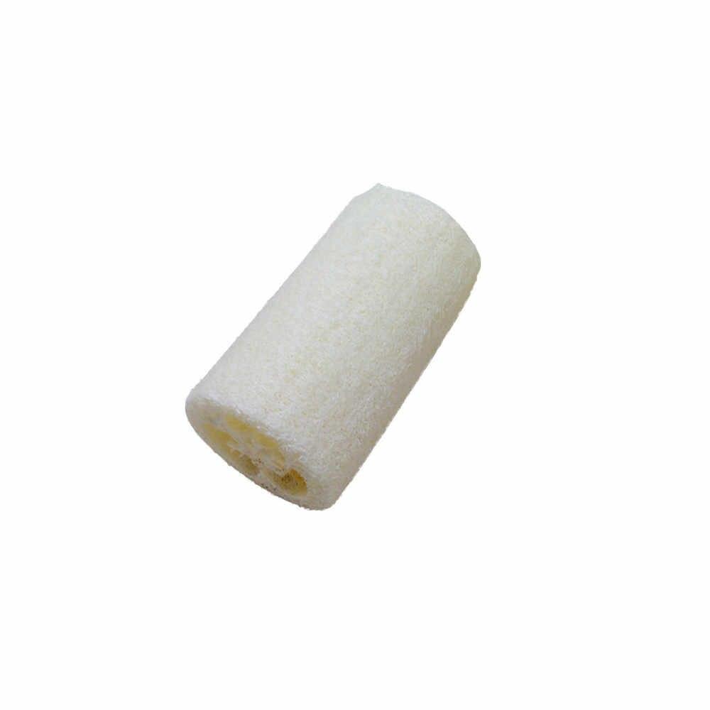 แฟชั่น 1 ชิ้น NATURAL Loofah Luffa Loofa สปาอาบน้ำ Body Scrubber Horniness นวดอาบน้ำฟองน้ำ 0.386