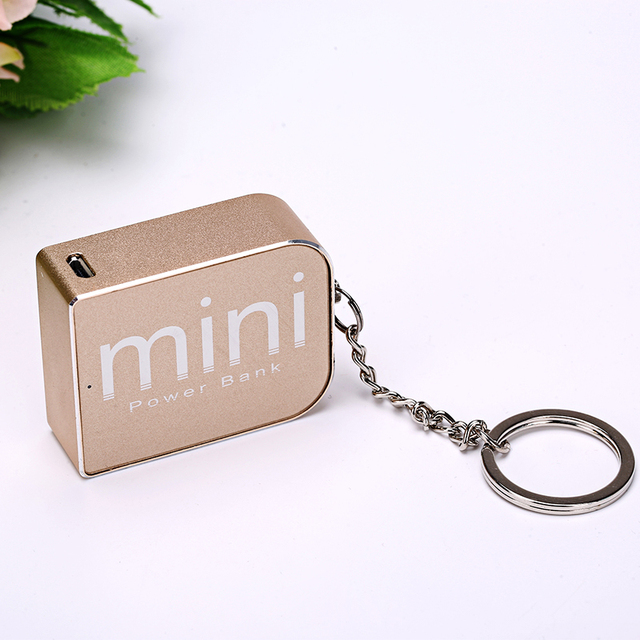 Брелок Мини Powerbank 1800 мАч 5 В 1A Банк Силы Мобильного Телефона Mini usb Универсальный Портативный Внешний Аккумулятор Резервного Питания зарядное устройство