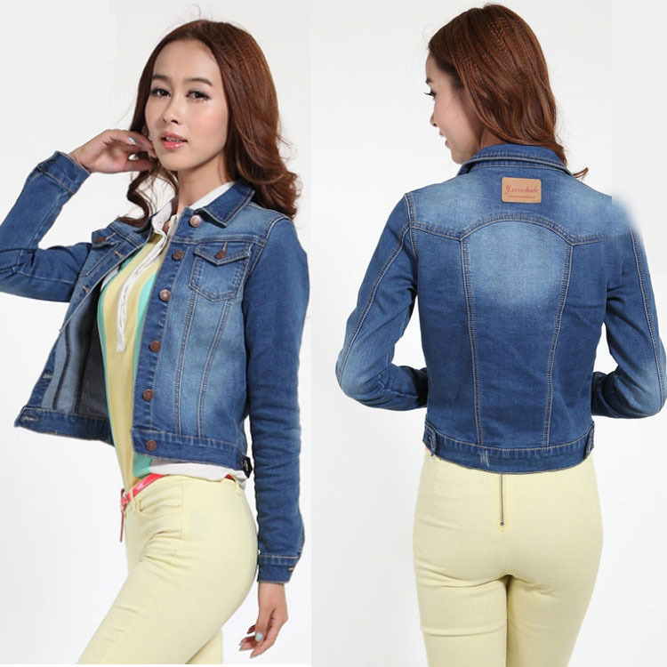 Compare Prices on Ladies Denim Jacket- Online Shopping/Buy Low