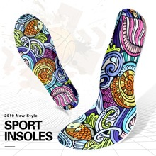 3ANGNI 3 Pair Shoes Accessories Insoles Breathable EVA Foam Sport Arch Support Soft Pad Insert Woman Men Feet For Running Sole