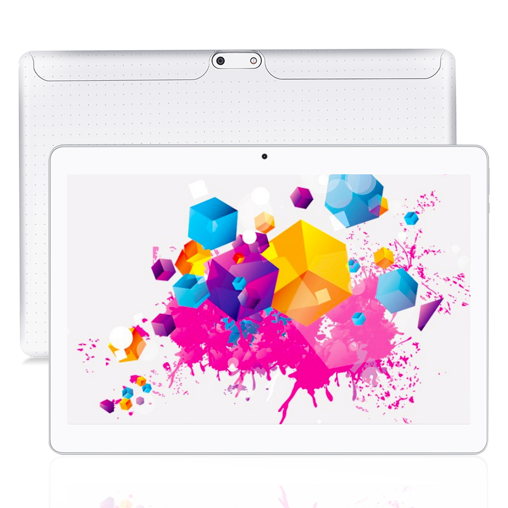 YUNTAB white K107 10 1 Bluetooth Tablet PC Quad Core Touch Screen with Dual Camera Dual