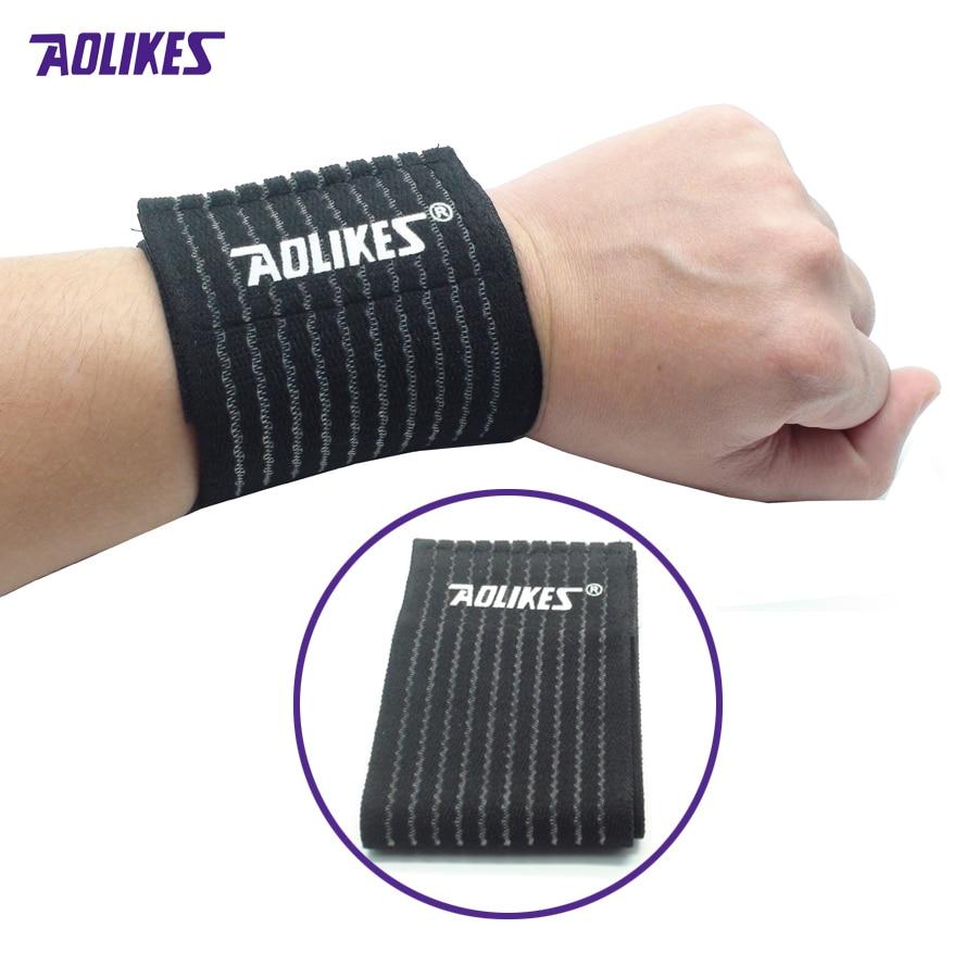 1Pcs Brace Support Bandage Elasticity Wrist Support for Gym Sport Basketball/Tennis/Badminton Carpal Hand Protector Wrist Z10701