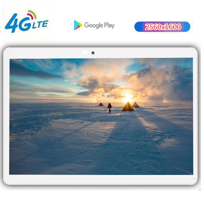 2019 Nouveau CP7 Google Android 8.0 Smart tablet pc android tablet pc 10.1 pouces 10 core la tablette Ram 4 GO Rom 128 GB 2560X1600 8MP