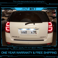 AKD tuning cars Tail lights For Chevrolet Captiva 2008 2016 Taillights LED DRL Running lights Fog lights angel eyes Rear parking