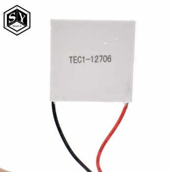 50PCS 100% New the cheapest price TEC1 12706 TEC 1 12706 57.2W 15.2V TEC Thermoelectric Cooler Peltier (TEC1-12706)